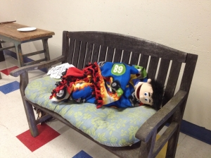 Even the puppets are tired...